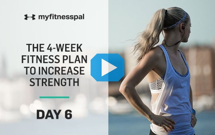 The 4 Week Fitness Plan To Increase Strength Day 6