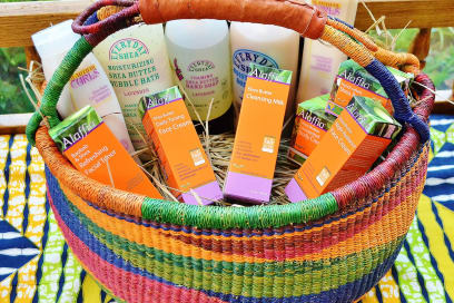 Blessing baskets whole foods market how alaffia helps women and children in west africa negle Images