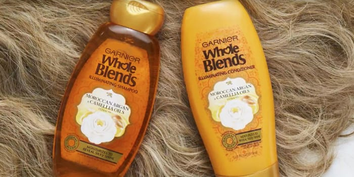 Whole Blends Coconut Oil & Cocoa Butter - Frizzy Hair Care - Garnier