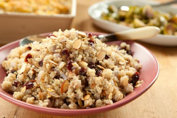 Quinoa Pilaf With Cranberries And Almonds Whole Foods Market