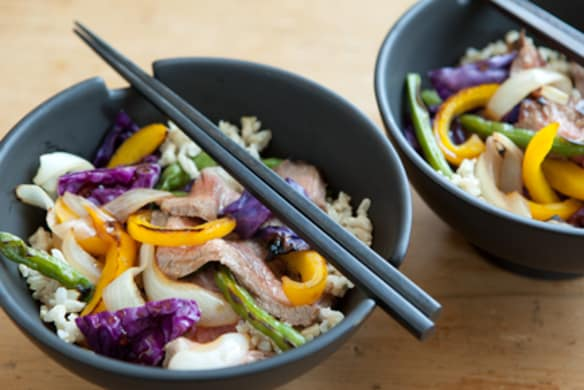Quick And Easy Beef Rice Bowl Whole Foods Market