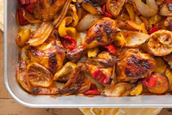 Peruvian Style Roasted Chicken With Sweet Onions Whole Foods Market