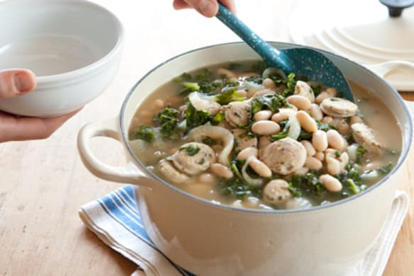White Bean And Kale Soup With Chicken Sausage Whole Foods Market