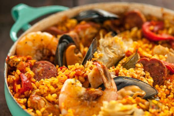 Spanish Paella With Chorizo Chicken And Shrimp Whole Foods Market