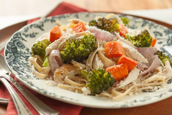 Rotisserie Chicken And Vegetables With Noodles Whole Foods Market