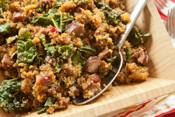 Sausage And Quinoa One Pot Supper Whole Foods Market