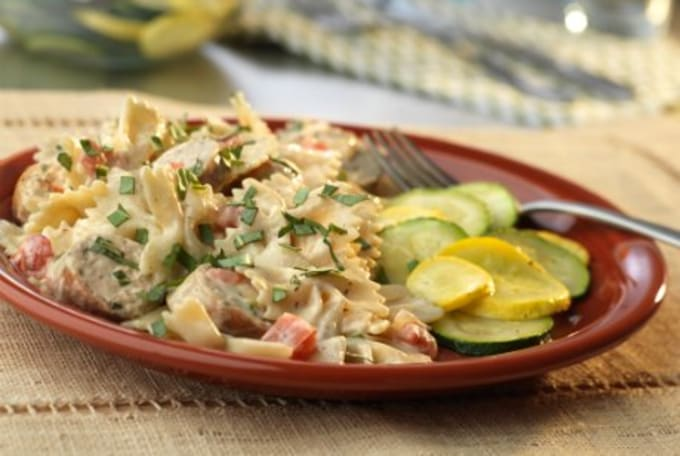 Creamy Chicken Alfredo Recipe Campbells Kitchen