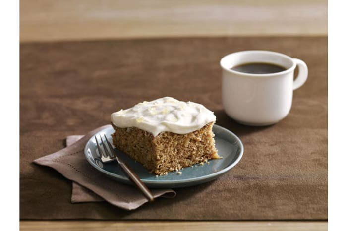 Ginger-Applesauce Cake - My Food and Family