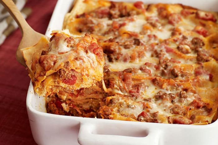 Four Cheese Lasagna My Food And Family
