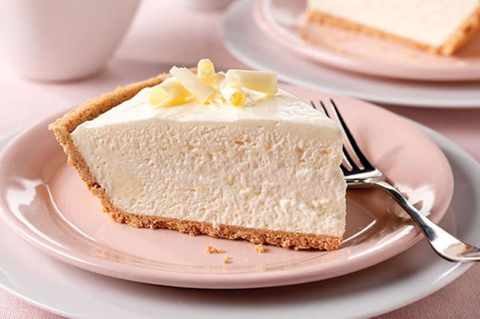 Marvelous Fluffy White Chocolate Cheesecake My Food And Family Download Free Architecture Designs Scobabritishbridgeorg
