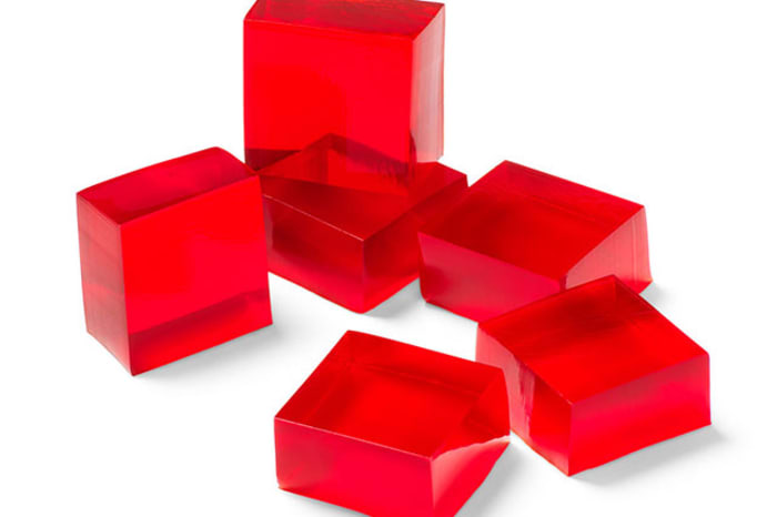 Image result for jello cubes