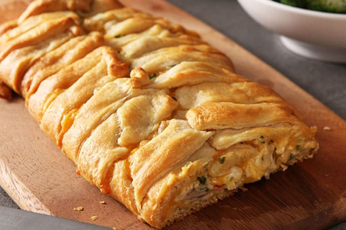 Cheesy Chicken Crescent Roll Recipe - My Food and Family