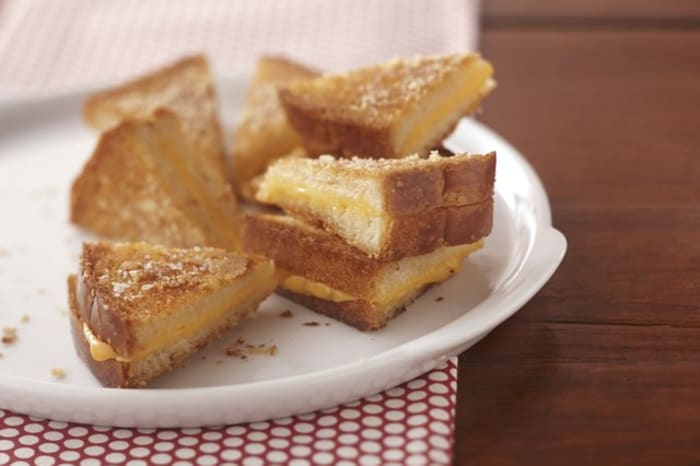 Ultimate Crispy Grilled Cheese Sandwiches My Food And Family