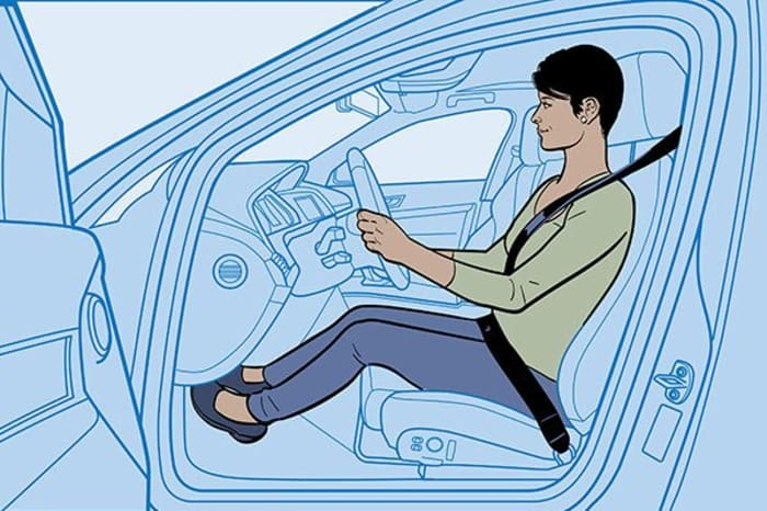 Fantastic The Importance Of Good Driving Posture Geico Caraccident5 Cool Chair Designs And Ideas Caraccident5Info