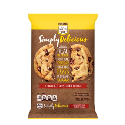 Simply Delicious Chocolate Chip Cookie Dough By NESTLER TOLL HOUSER
