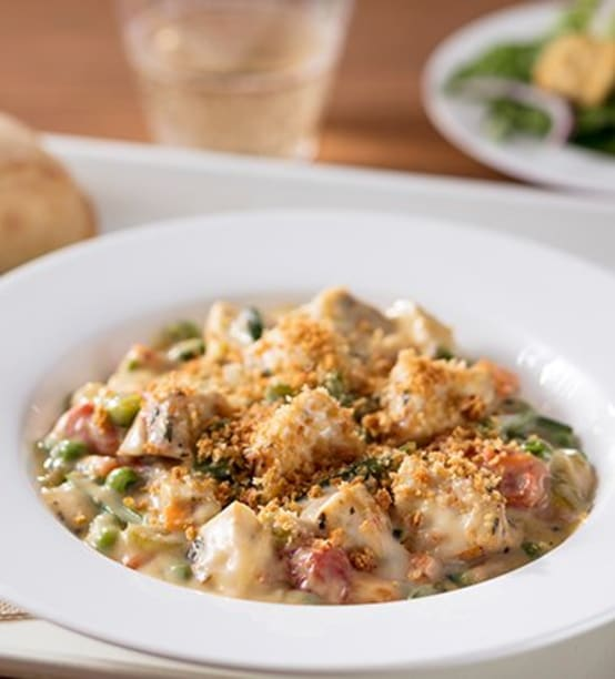 CHICKEN POT PIE MADE WITH CAMPBELL'S® HEALTHY REQUEST® CREAM OF CHICKEN SOUP