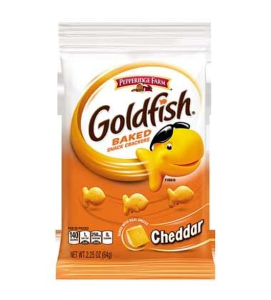 GOLDFISH® BAKED SNACK CRACKERS - CHEDDAR - Campbells Food