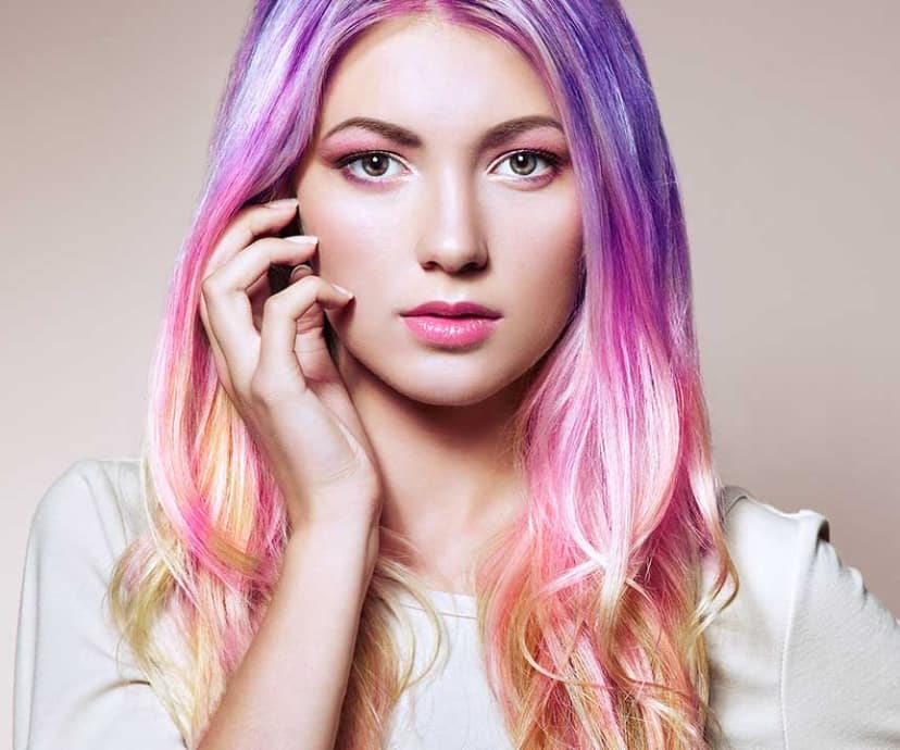 How To Rock The Metallic Hair Color Trend Loral Paris