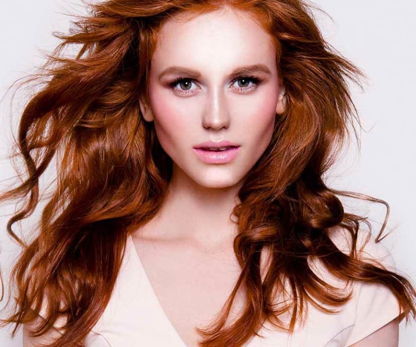 How To Get Red Hair With Blonde Highlights Loral Paris
