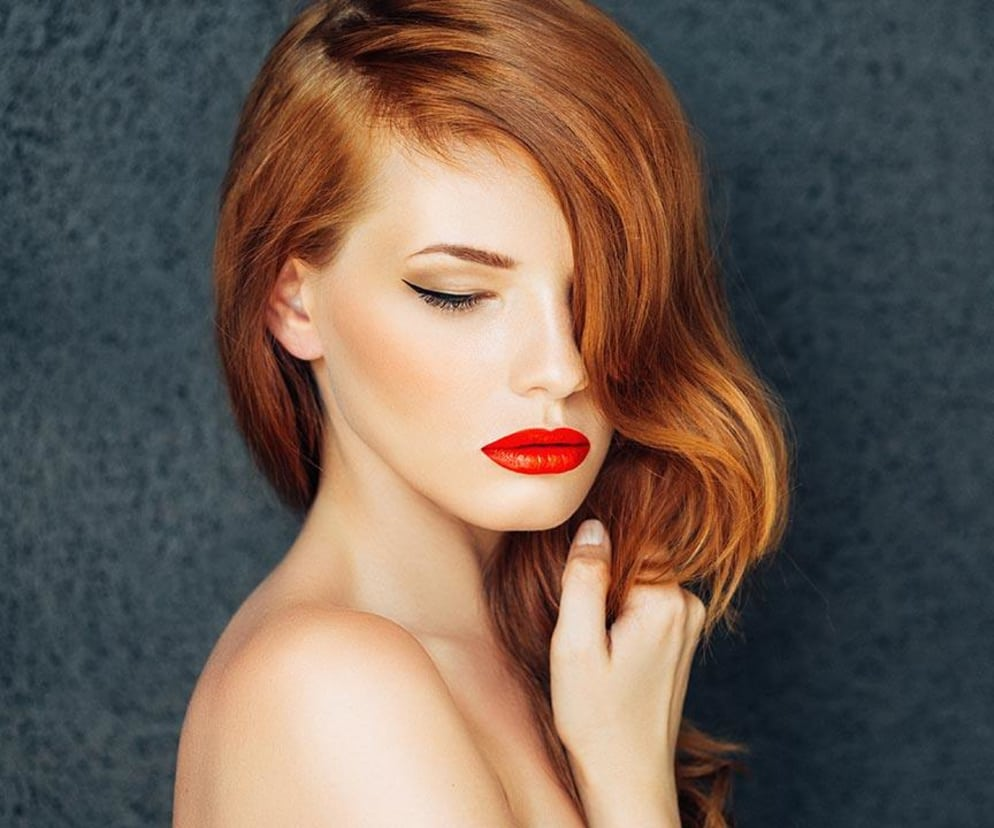 25 Pretty Cool Warm And Neutral Shades Of Red Hair Loral Paris