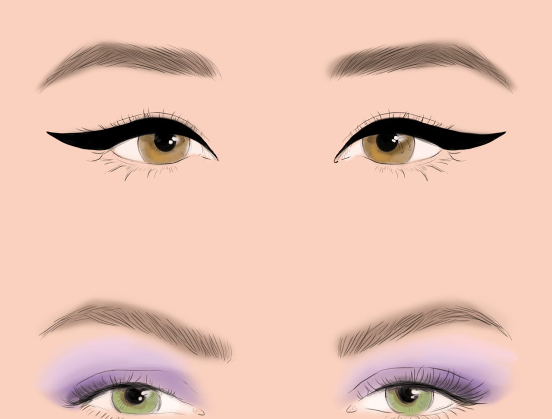 How To Choose The Right Eyeliner Technique For Almond Eyeskeup
