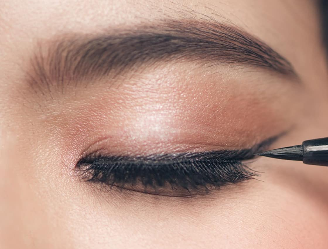 How To Apply Liquid Eyeliner With Eyelash Extensions Nabi Duo Concealer