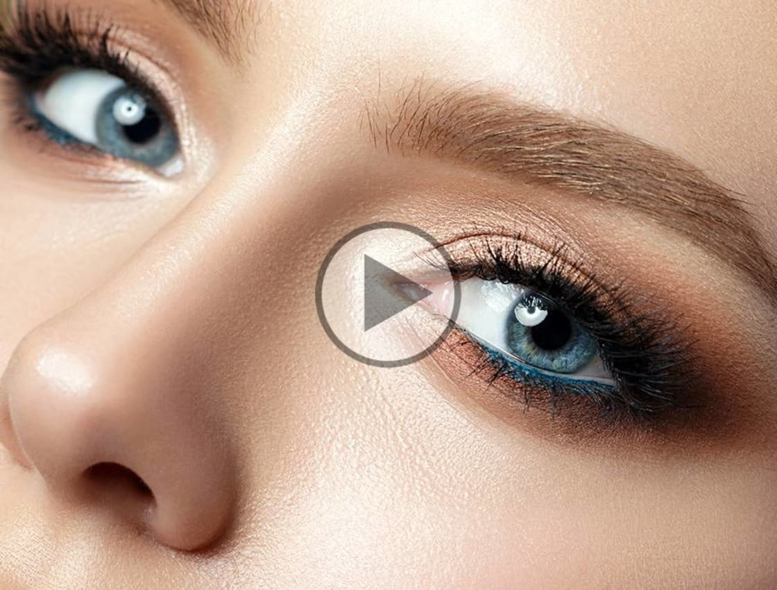 the best eyeshadow tutorial for blue eyes | makeup