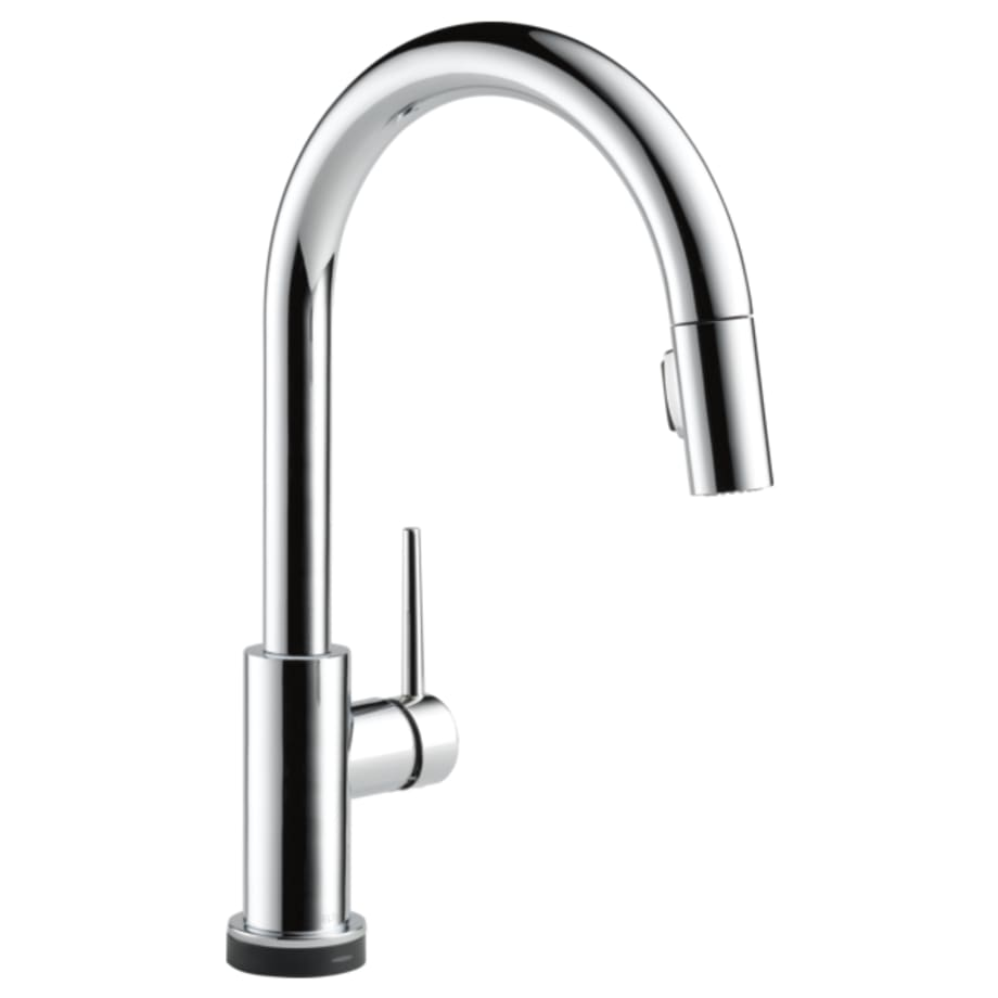 Single Handle Pull Down Kitchen Faucet With Touch2o Technology Automatic Sink Wiring Diagrams 9159t Dst Delta