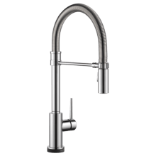single handle pulldown spring spout kitchen faucet with touch2o technology