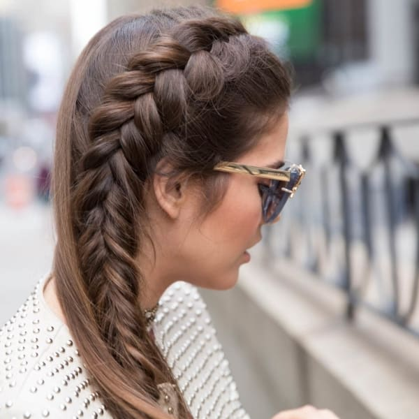 Clic French Braids For Long Hair